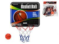 Basketbalový koš s míčem 9 cm - mix variant či barev