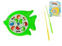 Hra ryby 19x15 cm na baterie - mix barev