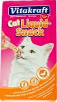 Vitakraft snack cat Liguid kachna + ß-glucan 6 x 15 g
