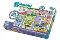 Puzzle zvířátka Gigantic Město