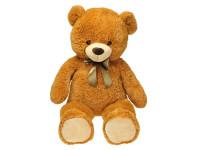 Medvěd plyšový 90 cm s mašlí