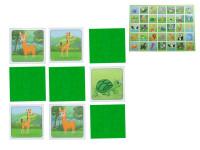 Pexeso Mláďata 64 karet ilustrovaná zvířátka