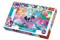 Puzzle My Little Pony 100 dílků 41x27,5cm