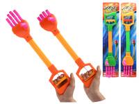Robotická ruka 48 cm s ohebnými prsty - mix barev