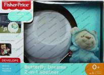 Fisher Price projektor s motýlím kamarádem pro klidné sny