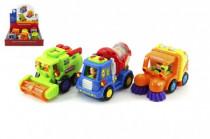 Auto nákladní plast na setrvačník 12cm 18m+ - mix variant či barev