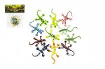 Ještěrky/hmyz plast 7cm - mix variant či barev