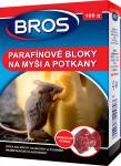 Bros - parafinové bloky na myši, krysy a potkany 100 g