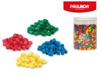 Paulinda Super Beads 5x6 mm 1600 ks s doplňky v dóze - mix barev