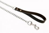 Vodítko řetěz - černý B&F 0,4 x 110 cm