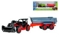 Zemědělský stroj s vlečkou 1:72 volný chod - mix variant či barev