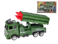 Vojenské vozidlo raketomet 18 cm na setrvačník