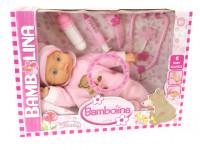 Bambolina Mia Bambina 36 cm s doplňky