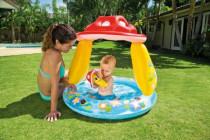 Bazén nafukovací dno baby muchomůrka 102x89cm od
