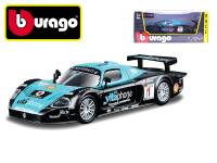 RACE-MASSERATI MC12 1:24 černo-modré