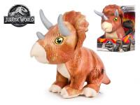 Jurský svět 2 Triceratops 30 cm plyšový sedící
