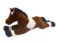 Kůň bílo/tm hěndý 80 cm