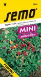 Semo Paprika zeleninová pálivá - Pyramid, okrasná 20s - série Mini  /SHU 40 000/