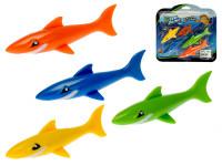 Žralok do vody 12 cm 4 ks