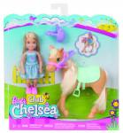 Barbie Chelsea a poník