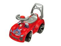 Auto odrážedlo červené 70x45x29 cm s klaksonem max. 30 kg