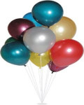 Balónky metalíza
