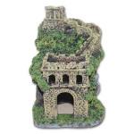 Dekorace do akvária - Starý hrad Tommi 11 x 11 x 14,5 cm
