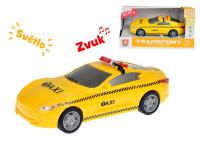 Auto taxi 16 cm 1:28 na setrvačník se světlem a zvukem
