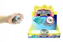 Hmota/modelína 90g inteligentní metalická 8cm v plastové krabičce