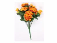 Květina CHRYZANTÉMA X13 umělá 13 květů 36cm