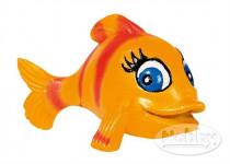 Dekorace do akvária - Ryba oranžová Nobby 8 x 6 x 6 cm