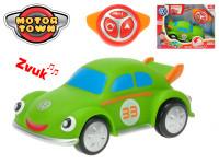 R/C Volkswagen Beetle zelený 18 cm na baterie se zvukem