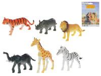 Zvířátka safari 6 ks 5,5-7 cm