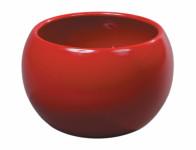Obal na květník TITAN FIGARO keramický červený d18x14cm