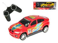 R/C auto sportovní 17 cm 27 MHz na baterie plná funkce - mix barev