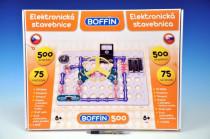Stavebnice Boffin 500 elektronická 500 projektů na baterie