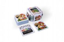 Pexeso zvyky a tradice voděodolné 64 karet v plechové krabičce Hmaťák