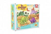 Puzzle dinosaurus 64x90cm