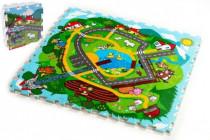 Pěnové puzzle Město Moje první zvířátka 9ks MPZ - VÝPRODEJ