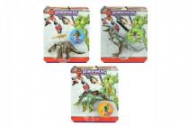 Transformer dinosaurus/robot plast 22cm - mix variant či barev