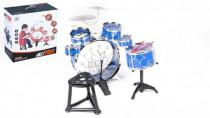 Bicí souprava/bubny 6ks plast - mix variant či barev