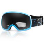 Spokey RADIUM lyžařské brýle modro-černé