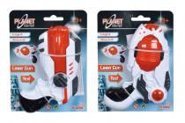 Planet Fighter Laserová pistole 16 cm - mix variant či barev