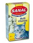 Sanal Premium multivitamin kočka tbl 85