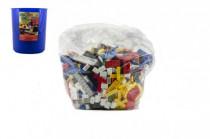 Stavebnice Cheva Koš Plný Kostek plast 2 kg v plastovém boxu