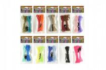 Vyrob si vlasní náramek parašňůra+přezky provázky - mix barev