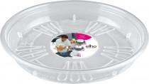 Elho miska Uni-Saucer - transparent 18 cm