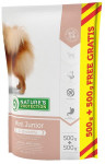 Nature's Protection Dog Dry Junior Mini 500 g + 500 g