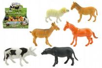 Zvířátko domácí farma plast 10cm asst - mix variant či barev
