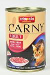 Animonda konz. kočka Adult hovězí srdce 400g